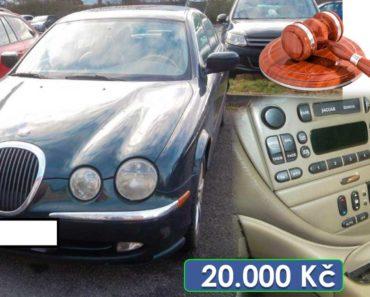 24.3.2020 Dražba automobilu JAGUAR S TYPE 3.0 L V6 EXECUTIVE. Vyvolávací cena 20.000 Kč, ➡️ ID690268