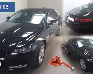 Do 24.2.2020 Aukce automobilu Jaguar XF. Vyvolávací cena 217.000 Kč, ➡️ ID688056