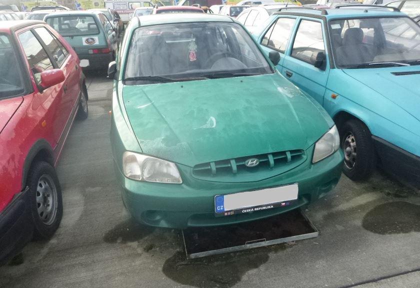 2.4.2020 Dražba automobilu Hyundai. Vyvolávací cena 300 Kč, ➡️ ID689666