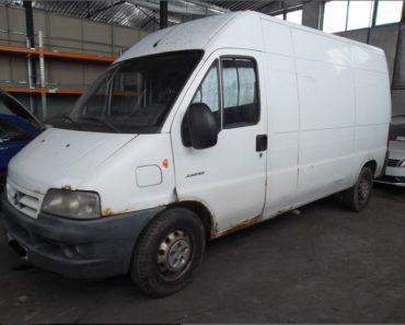 25.3.2020 Dražba nákladního automobilu Citroën Jumper 2.8 HDI. Vyvolávací cena 10.500 Kč, ➡️ ID690376