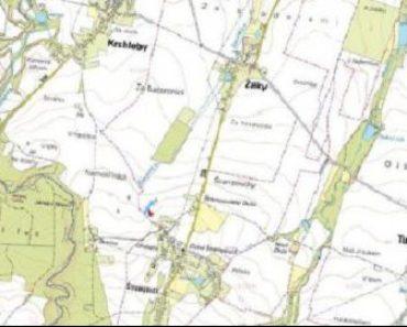 20.2.2020 Dražba nemovitosti (Pozemek o velikosti 6188 m2, Žáky, podíl 1/4). Vyvolávací cena 30.000 Kč, ➡ ID688302