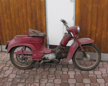 Do 17.4.2020 Aukce motocyklu Jawa 50 Pionýr. Vyvolávací cena 12.000 Kč, ➡️ ID697915