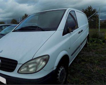 Do 10.4.2020 Aukce vozidla Mercedes - Benz Vito 111CDI. Vyvolávací cena 35.000 Kč, ➡️ ID697208