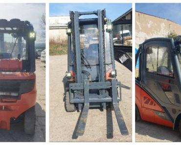 Do 14.4.2020 Aukce vysokozdvižného vozíku Linde H20. Vyvolávací cena 80.000 Kč, ➡️ ID698205