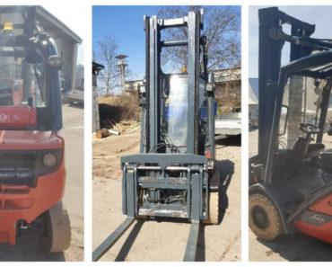 Do 14.4.2020 Aukce vysokozdvižného vozíku Linde H30. Vyvolávací cena 90.000 Kč, ➡️ ID698218