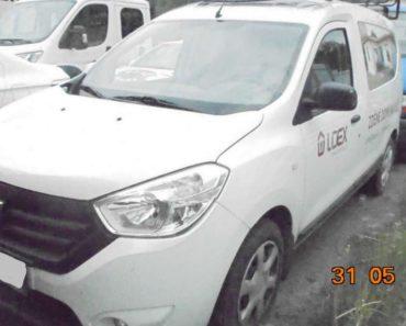 Do 15.4.2020 Výběrové řízení na prodej automobilu DACIA DOKKER. Min. kupní cena 132.000 Kč, ➡️ ID699503