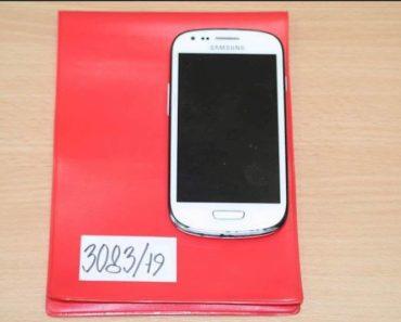 Do 20.4.2020 Aukce mobilního telefonu (Samsung S III mini). Vyvolávací cena 100 Kč, ➡️ ID698908