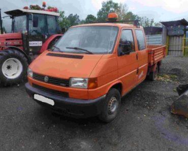 30.3.2020 Aukce nákladního automobilu VW Transporter. Vyvolávací cena 40.000 Kč, ➡️ ID697830