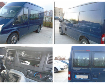 5.5.2020 Dražba vozidla Ford Transit. Vyvolávací cena 38.720 Kč, ➡️ ID699607