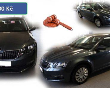 Do 30.3.2020 Aukce automobilu Škoda Octavia. Vyvolávací cena 90.000 Kč, ➡️ ID699197