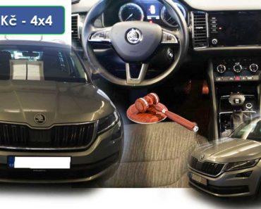 Do 30.3.2020 Aukce automobilu Škoda Kodiaq 2.0 TDI, Style 4x4. Vyvolávací cena 212.000 Kč, ➡️ ID699209