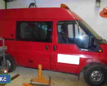 30.3.2020 Aukce vozidla FORD Transit 260 S. Vyvolávací cena 9.000 Kč, ➡️ ID697842