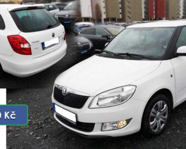Do 30.3.2020 Aukce automobilu Škoda Fabia Combi 1.6 TDI. Vyvolávací cena 42.000 Kč, ➡️ ID699305
