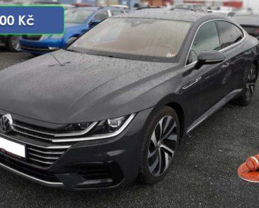 Do 30.3.2020 Aukce automobilu VW Arteon 2.0 TDI. Vyvolávací cena 252.000 Kč, ➡️ ID699130