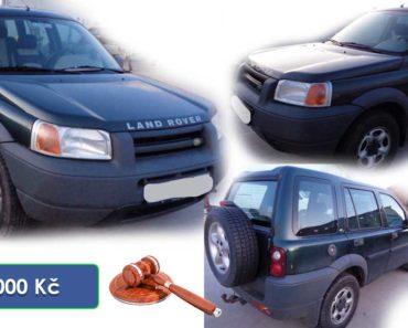 5.5.2020 Dražba automobilu Land Rover Freelander. Vyvolávací cena 15.000 Kč, ➡️ ID699575