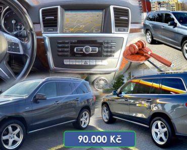28.4.2020 Dražba automobilu Mercedes Benz GL 350 BLUETEC 4MATIC. Vyvolávací cena 90.000 Kč, ➡️ ID698433
