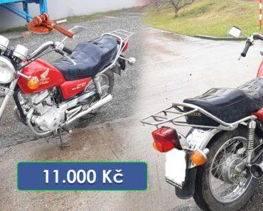 13.4.2020 Dražba motocyklu Honda Custom 125. Vyvolávací cena 11.000 Kč, ➡️ ID693653