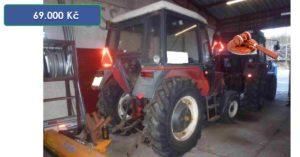30.3.2020 Aukce traktoru ZETOR 7011 - 69.000 Kč, ➡️ ID697755