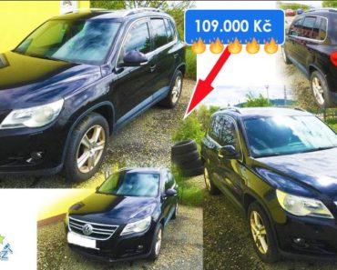 Zisková Dražba VW TIGUAN – vydraženo jen za: 113.000 Kč