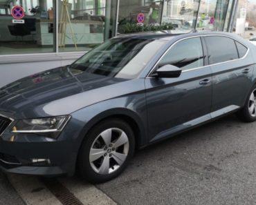 Do 9.4.2020 Aukce automobilu Škoda Superb 2.0 TDI. Vyvolávací cena 389.000 Kč, ➡️ ID702219