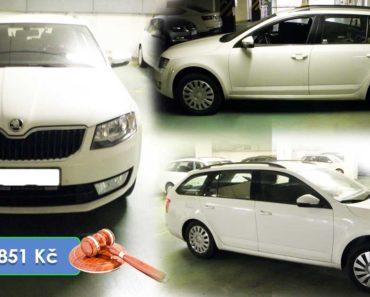 9.4.2020 Aukce automobilu Škoda Octavia combi. Vyvolávací cena 57.851 Kč, ➡️ ID701427