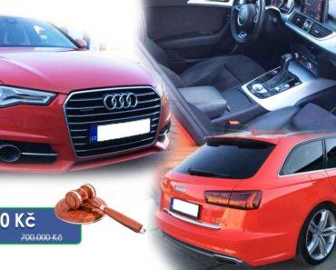 16.4.2020 Aukce automobilu Audi A6 3.0 TDI. Vyvolávací cena 200.000 Kč, ➡️ ID701987