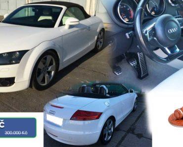 16.4.2020 Aukce automobilu Audi TT 2.0. Vyvolávací cena 80.000 Kč, ➡️ ID702001