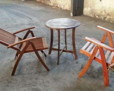 Do 31.5.2020 Výběrové řízení na prodej nábytku (Zahradní dřevěný nábytek). Min. kupní cena Nejvyšší nabídce Kč, ➡️ ID708244