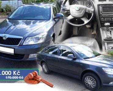 4.6.2020 Dražba automobilu Škoda Octavia 1.8 TSI, Laurin&Klement. Vyvolávací cena 85.000 Kč, ➡️ ID714530