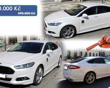 10.6.2020 Aukce automobilu Ford Mondeo. Vyvolávací cena 190.000 Kč, ➡️ ID714572