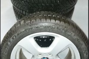 9.6.2020 Aukce ostatních movitých věcí (Souprava kol na BMW). Vyvolávací cena 7.500 Kč, ➡️ ID716356