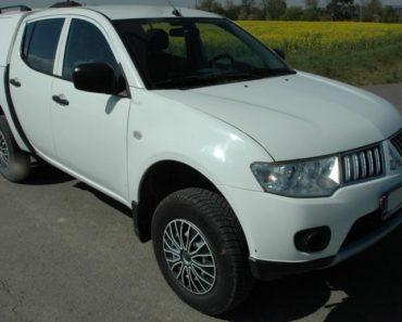 Do 15.6.2020 Aukce automobilu Mitsubishi L200. Vyvolávací cena 210.000 Kč, ➡️ ID712448