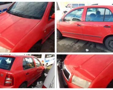 Do 15.6.2020 Aukce automobilu Škoda Fabia 1.4. Vyvolávací cena 7.962 Kč, ➡️ ID715690