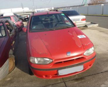 9.7.2020 Dražba automobilu Fiat. Vyvolávací cena 300 Kč, ➡️ ID711506