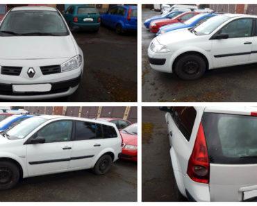 Do 15.6.2020 Aukce automobilu Renault Megane. Vyvolávací cena 16.040 Kč, ➡️ ID715700