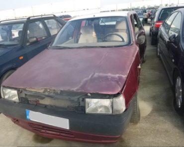 9.7.2020 Dražba automobilu Fiat. Vyvolávací cena 300 Kč, ➡️ ID712014