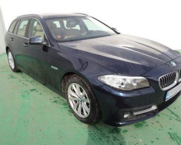3.6.2020 Dražba automobilu BMW 520d 2.0. Vyvolávací cena 310.000 Kč, ➡️ ID716143