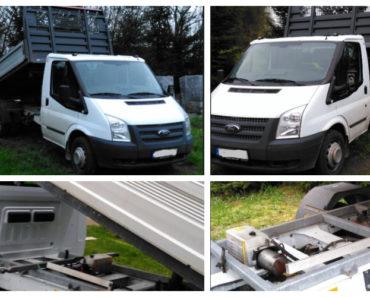 26.5.2020 Aukce nákladního automobilu Ford Tranzit N1 - sklápěč. Vyvolávací cena 100.000 Kč, ➡️ ID709170