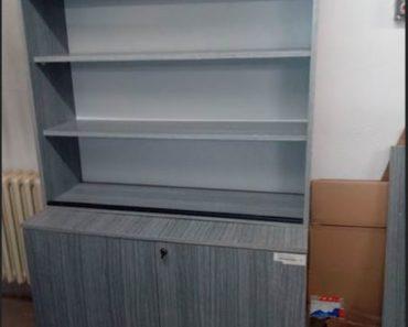 Do 7.6.2020 Aukce nábytku (Knihovna). Vyvolávací cena 200 Kč, ➡️ ID714519