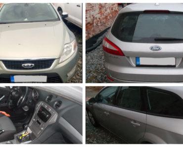 8.7.2020 Dražba automobilu Ford Mondeo, combi. Vyvolávací cena 20.000 Kč, ➡️ ID711276