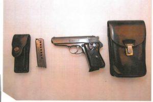 17.6.2020 Dražba zbraně (Pistole samonabíjecí, zn. ČZ, vz. 50). Vyvolávací cena 1.250 Kč, ➡️ ID711441