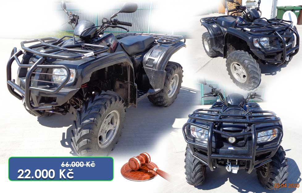 21.7.2020 Dražba čtyřkolky New Force Motors. Vyvolávací cena 22.000 Kč, ➡️ ID714629