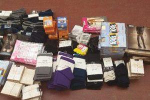 2.7.2020 Dražba ostatních movitých věcí (Skladové zásoby ponožek a legín). Vyvolávací cena 235.764 Kč, ➡️ ID715154
