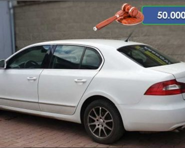 Zisková Dražba Škoda Superb – vydraženo jen za: 136.000 Kč