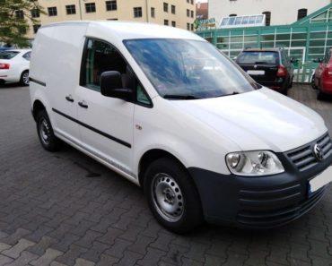 Zisková Dražba VW CADDY – vydraženo jen za: 74.000 Kč