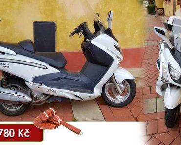 27.7.2020 Dražba motocyklu SYM LM25. Vyvolávací cena 21.780 Kč, ➡️ ID725503