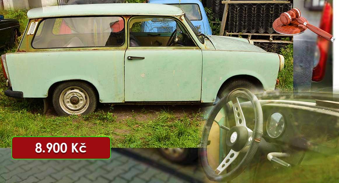 Do 20.7.2020 Aukce automobilu Trabant 601. Vyvolávací cena 8.900 Kč, ➡️ ID723901