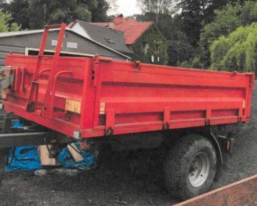 Do 20.8.2020 Výběrové řízení na prodej návěsu - nákladního traktorového UMEGA. Min. kupní cena 90.000 Kč, ➡️ ID731241