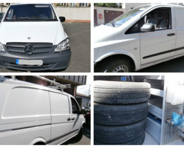 22.7.2020 Aukce automobilu Mercedes-Benz Vito. Vyvolávací cena 64.463 Kč, ➡️ ID727777