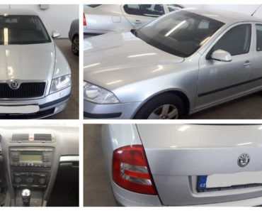 Do 10.8.2020 Aukce automobilu Škoda Octavia. Vyvolávací cena 12.000 Kč, ➡️ ID729915